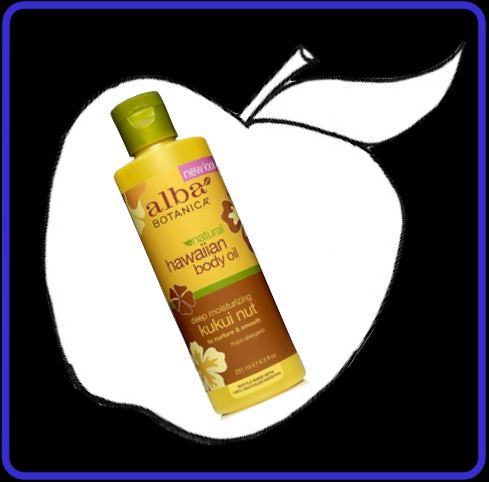 Alba  Hawaiian Kukui Nut Body Oil