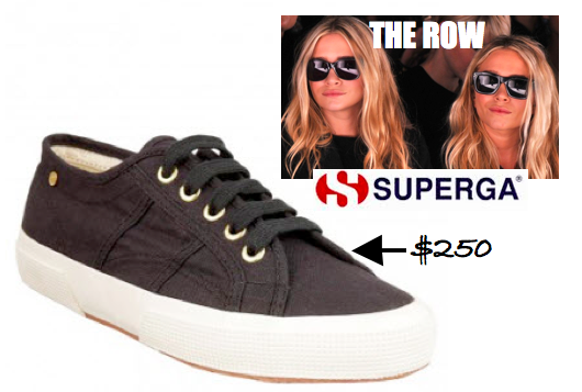 The Row Superga Collab